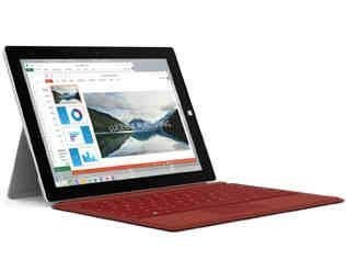 Microsoft Surface 3 Tablet 4G LTE, 10.8 Inch, 128GB, Intel Atom 1.6GHz, Windows 10 PRO