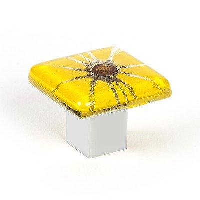 UPC 065570108327, Radiant Square Knob Color: Yellow
