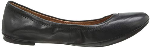 Ballet Emmie Black Brand Leather Lucky Women's pqwFAF