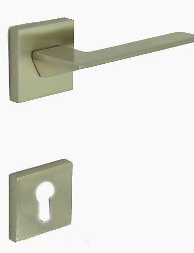 Brushed Nickel Alloy One Set Door Handle - Chrome Portland Single Handle