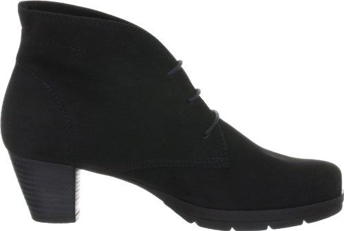 Semler Mira M41003-040-001 - Botas fashion de cuero nobuck para mujer Negro