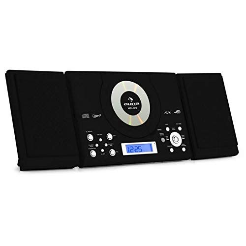 Auna MC-120 New Black Edition - Equipo de música estéreo ...