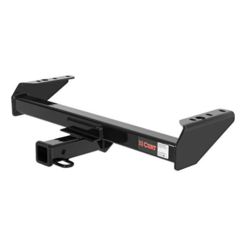 CURT 14082 Class 4 Trailer Hitch Black 2-Inch Receiver for Select Chevrolet, Ford and GMC Trucks
