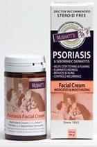 No. 9 Psoriasis Crème Visage de Mushatt, 3,4 once