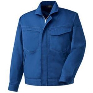 日用品 ファッション 関連商品 長袖ブルゾン 制電ソフトツイル ブルー LLサイズ B076V1TXK7