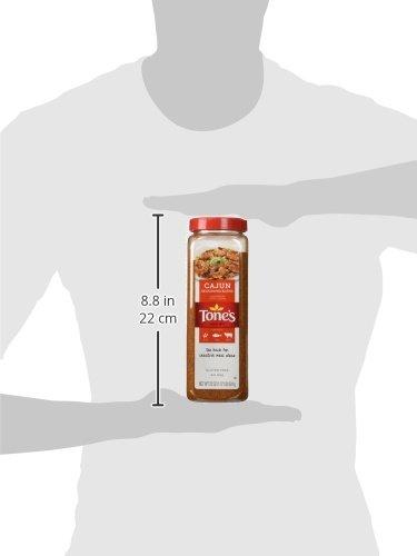 Tones Cajun Seasoning - 22 oz. shaker by Tone's (Image #4)