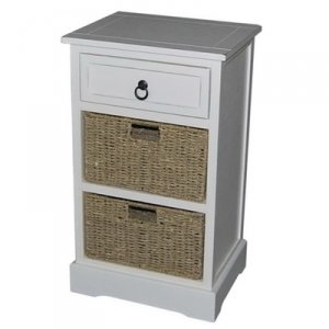 1 DRAWER WITH 2 BASKET CABINET by 1 DRAWER