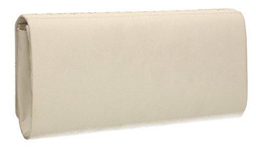 femme Pochette blanc Taille pour SwankySwans unique F4xEqE8