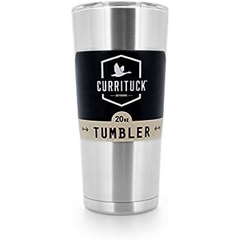 Amazon Com Currituck Heavy Duty Stainless Steel Tumbler