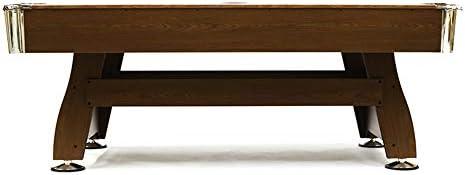 Devessport - Mesa de Billar Semi Profesional Cortés - Fácil Montaje - Incluye niveladores de Patas - Ideal para Jugar con Amigos - Medidas: 211.5 x 120.5 x 78 Cm: Amazon.es: Deportes y aire libre