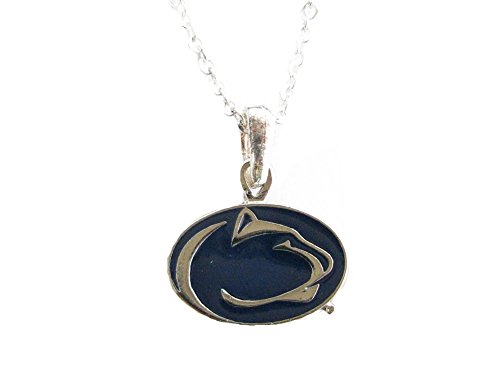 Sports Accessory Store Penn State Nittany Lions PSU NCAA Silver Chain Fashion -