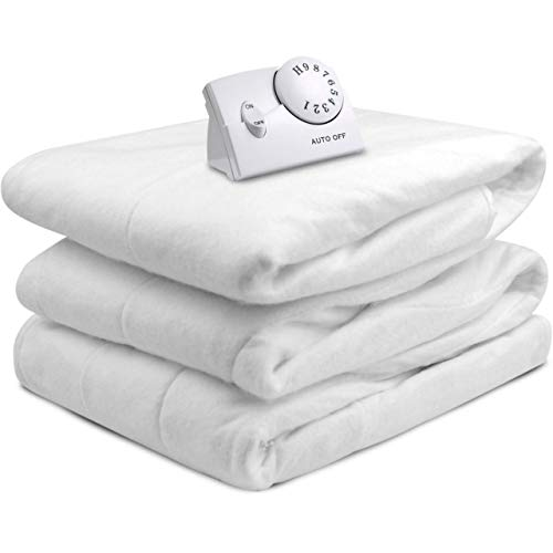 (Biddeford Automatic Electric Heated Fitted Mattress Pad - White (FULL))