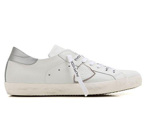 Philipp Hommes Espadrille Blanc Bianco Plein Argento +