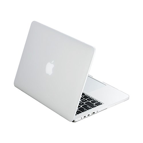 TOP CASE Rubberized Hard Case Cover for Apple MacBook Pro 13