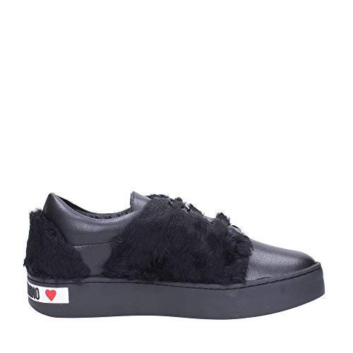 Nero Sneakers Donna Moschino Ja15273g06 Love wpIOvxq8n