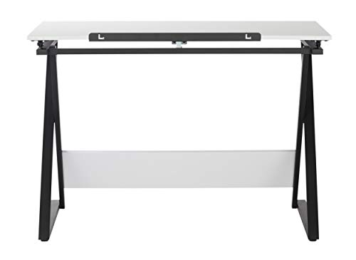 SD Studio Designs Studio Designs 13353 Axiom Modern Art, Drawing, Crafting, Drafting, 42-Inch Wide MDF Adjustable Angle Top Table in Charcoal/White, W x 24'' D x 30'' H by SD STUDIO DESIGNS (Image #6)