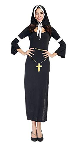 Adult Halloween Carnival Costumes The Virgin Mary Costume Cosplay Sexy Catholic Nun