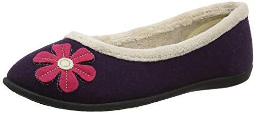 Viola Padders 95 Pantofole Donna Happy purple qfF17TUt1