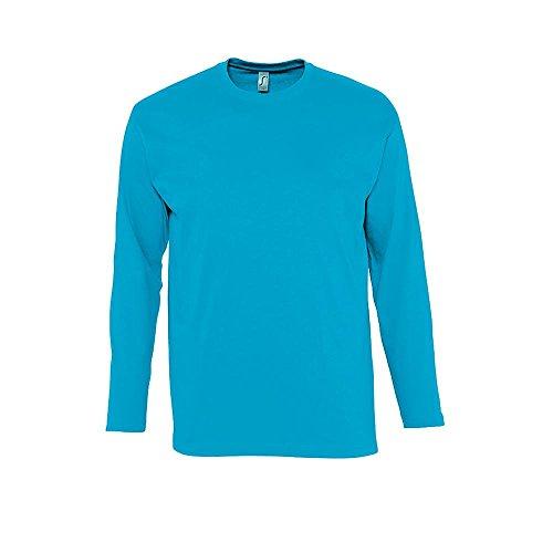 SOL´S Langarm T-Shirt Monarch, Größe:M, Farbe:Aqua