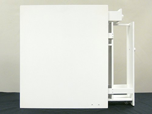 Proman Products Bathroom Floor Cabinet Wood in Pure White by Proman Products (Image #5)