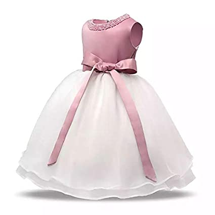 429bd72b80288 Generic Toddler Baby Girl Baptism Gown Costumes Newborn Princess ...