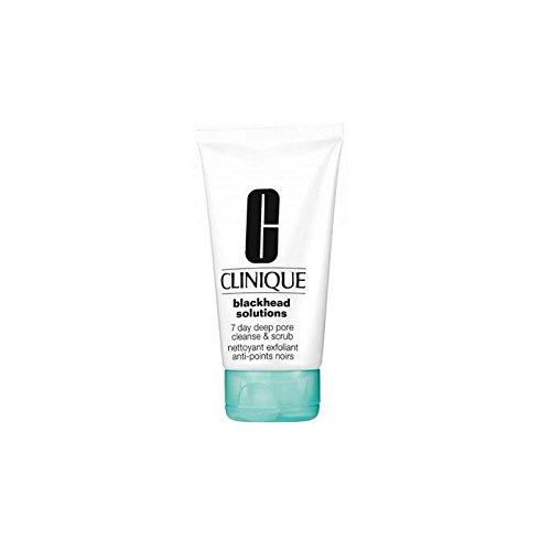 Blackhead Solutions by Clinique 7 Day Deep Pore Cleanser & Scrub / 4.2 fl.oz. 125ml