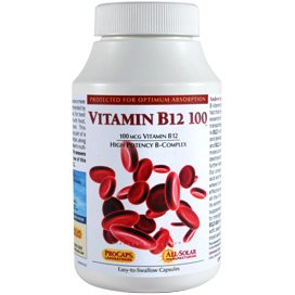 Vitamin B12 100 60 Capsules