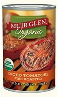 product image for Muir Glen Organic Diced Tomatoes, Fire Roasted,14.5 Oz Cans,12 Pack
