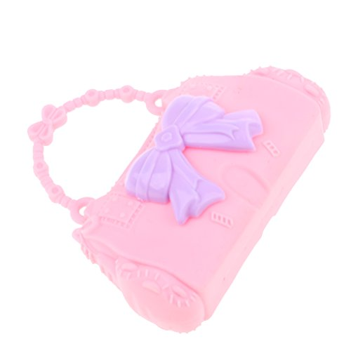 Bag Bag 28 Kid Pretty Barbie Doll Baoblaze for Shoulder Plustic 30cm Dolls Handbag Butterfly Accessories Pink Girl YxI6nSwPnq