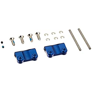 Traxxas 2798X Blue-Anodized Aluminum Rear Suspension Arm Mounts (pair)