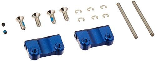 Traxxas 2798X Blue-Anodized Aluminum Rear Suspension Arm Mounts (pair)