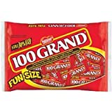 100 Grand Funsize, 12.5-Ounce Bags (Pack of 6)