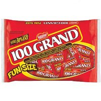 100 Grand Funsize, 11-Ounce Bags (Pack of 6) by 100 Grand