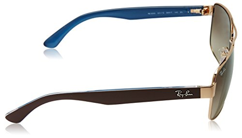 fdec3fde97 Ray-Ban Mens 0RB3530 Square Polarized Sunglasses