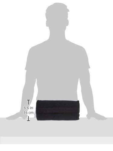 Ability Superstore McKenzie Slimline - Cojín lumbar cilíndrico (35,6 x 17 cm)