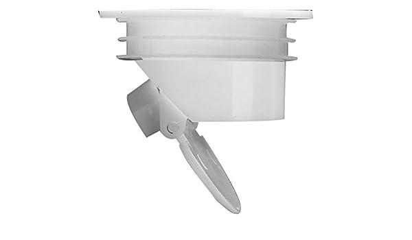 Tapón blanco para bañera o ducha, para colador de fregadero, baño, trampa, sifón, accesorio antiolor para fregadero de cocina: Amazon.es: Bricolaje y herramientas