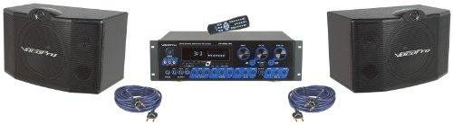 - VocoPro Karaoke System, 21.00 x 21.00 x 23.00 (KRS3)