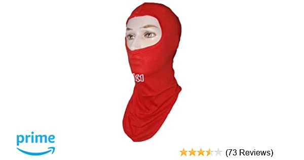 K1 Race Gear 701431 Red Cotton Full Face Head Socks Balaclava