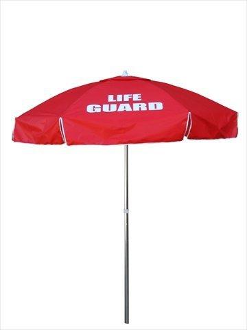 Lifeguard Stand - Kemp USA Lifeguard Umbrella - Red