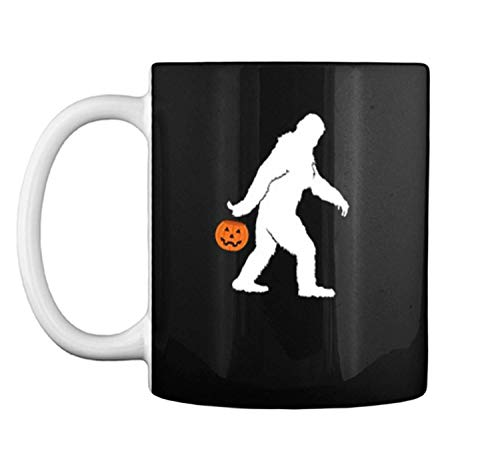 Bigfoot Halloween Costume Funny for Men Women Boy Girl Mug Coffee Mug (White, 11 oz) ()