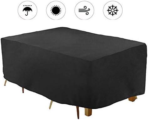 ASDFGHT Muebles De Cama Conjunto Exterior Funda Silla Jardín Impermeable para Mesa Cubierta Utilizado For Aire Acondicionado Balcón Resistencia Al Desgarro Durable 2 Colores Tamaño Personalizable: Amazon.es: Hogar