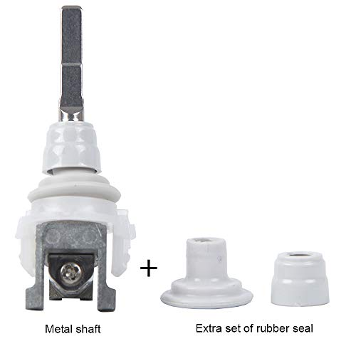 Electric toothbrush metal shaft/vibrating tip/shaft connector block/replacement shaft spare parts for sonicare diamondclean HX6340 HX6530 HX6710 HX6920 HX9140 HX9340 (new seal)