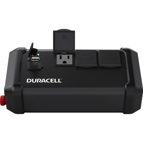 Duracell Power DRINV400TG Black High Tailgate Inverter, 400 W