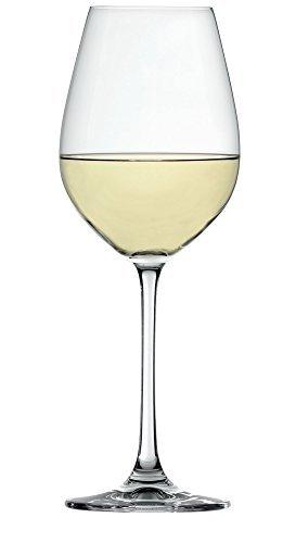Spiegelau 4720172 Salute White Wine Glasses (Set of 4), Clear by Spiegelau