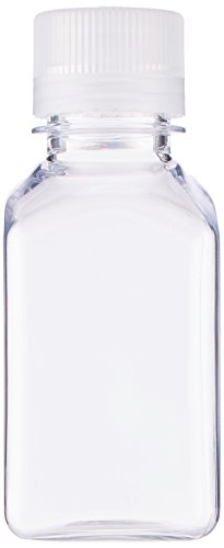 Nalgene Transparent Lexan Square Storage Bottle 8 oz. (Lexan Water Bottle)