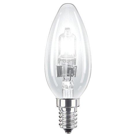 8 pezzi 18 W C35 (SES) Small Edison Screw (E14) alogena dimmerabile lampadina a candela, 18 Watt equivalenti a 25 Watt, 2000 ore di vita lunga lampadina alogena, 205 lumen. 18Watt equivalenti a 25Watt 205lumen.