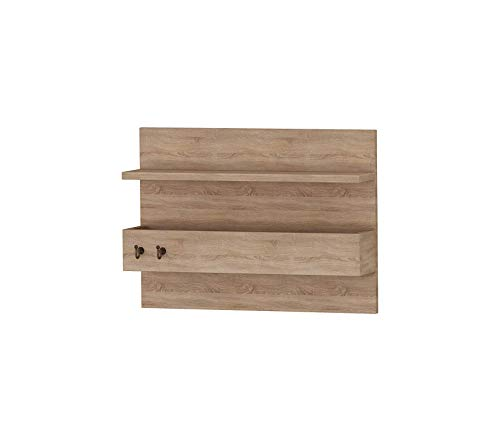 Аdа Hоmе Décоr Deluxe Premium Collection Hazel Coat Rack 17.32'' x 12.57'' x 4.72'' Oak & Decor Comfy Living Furniture