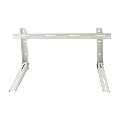 AC Parts Wall Mounting Bracket with Cross Bar for Mini Split Air Conditioner Condensing Unit,Heat Pump,1-3P, Support up to 350lbs, Universal (7000-18000BTU)