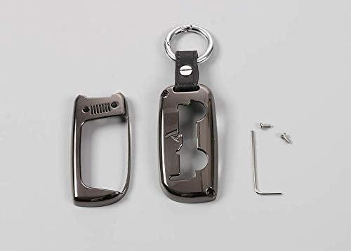 Argento copertura decorazione per la borsa chiave dellautomobile,sacchetto di chiave dellautomobilek,copertura della cassa chiave dellautomobile