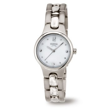 3222-01 Ladies Boccia Titanium Watch